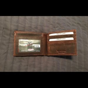 Other - New! Genuine real leather wallet